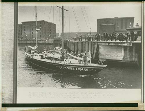 Vintage photo of Ship Yacht Francis Drake