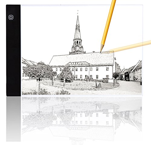 Mycat A4 Ultra Slim Led Light Box Tracer Led Light Artcraft Tracing Pad USB Cable Power for Artists,Drawing, Sketching, Animation by Mycat