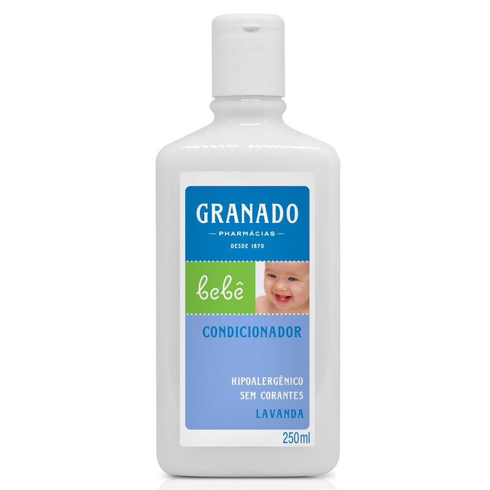 Linha Bebe Granado - Condicionador Bebe Lavanda 250 Ml - (Granado Baby Collection - Lavender