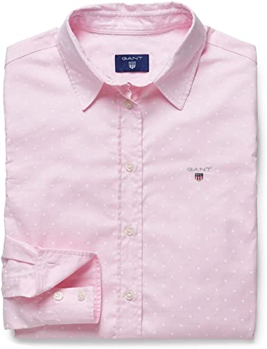 Gant - Camisas - para mujer rosa rosa claro: Amazon.es: Ropa