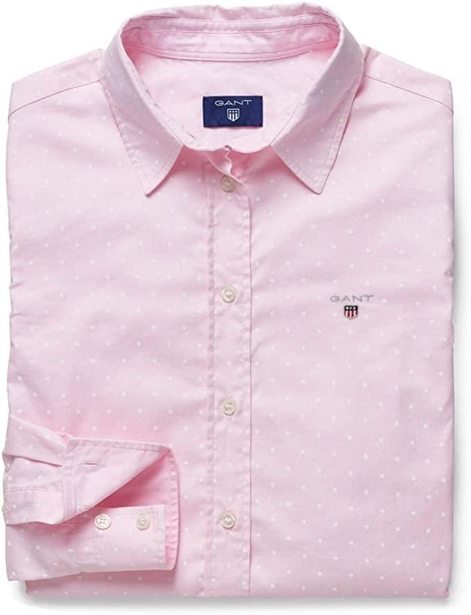 Gant - Camisas - para mujer rosa rosa claro: Amazon.es: Ropa y accesorios