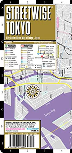 Streetwise Tokyo Map - Laminated City Center Street Map of Tokyo ...