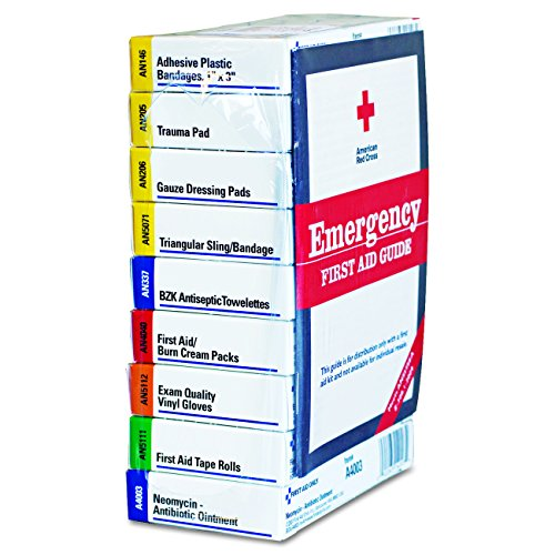 10 Unit First Aid Kit - First Aid Kit Refill for 10 People, 59 Count