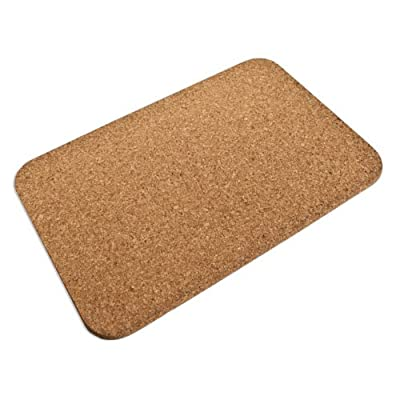 Cork Mat Rectangle (450 X 300 X 10MM) - Made of Fine Grain Cork Eco-friendly product Can be used both as a hot mat and as a memo board - placemats, kitchen-dining-room-table-linens, kitchen-dining-room - 51zF3DUUGsL. SS400  -