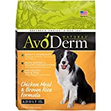Cheap Avoderm Natural Adult Dry Dog Food, Chicken Meal & Brown Rice Formula 15-Pounds