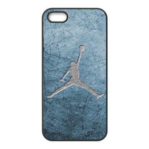 iPhone 5, 5S Phone Case Black Jordan logo QY7014611