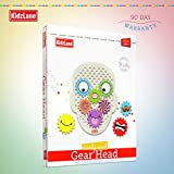Kidzlane Gear Head Wooden Building Toys