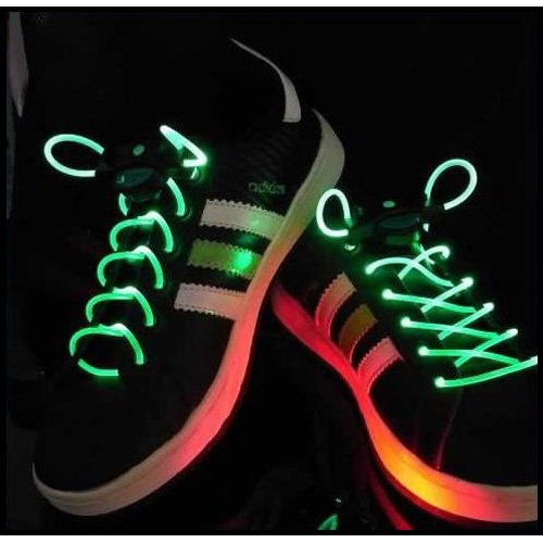 Gleader Green Led Luminous Lacets
