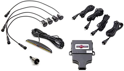 Crimestopper Rear Parking Assist System with Rear Mount LED Display for Plastic Bumpers CA-5014