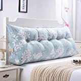 LXY Triangle Cushion Pillow Double Bed Soft Pack Bed Pillow Bed Backrest Sofa Cushion (Color : G, Size : 135cm)