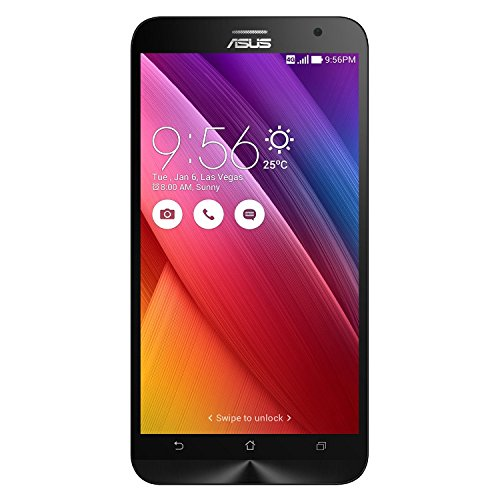 ASUS ZenFone 2 ZE551ML Unlocked Cellphone, 64GB, Grey, International Version, No Warranty – GSM ONLY