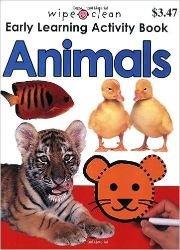 Wipe Clean Activity Book Animals (Wipe Clean Activity Books ...