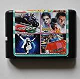 Taka Co 16 Bit Sega MD Game Bare Knuckles/Super Hangon/ Moonwalker / Chase H.Q. II 16 bit MD Game Card For Sega 16bit Game Player