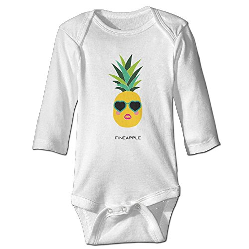 Mangoring Cool Pineapple With Sunglasses 100% Cotton Baby - Baby Sunglases