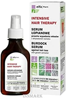 Elfa Pharm Intensive Hair Therapy Burdock Serum Aginst Hair Loss 100ml by Green Pharmacy