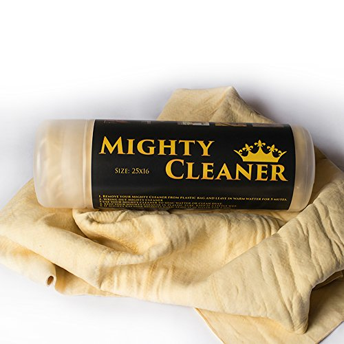 [Absorber Shammy Cloth Chamois Towel - Car Towel - Synthetic Chamois Leather Towel For Home - Car Cleaning Cloth - PVA Towel - Car Drying Towel - Best Shammy Cloth - Car Wash Cloth = Mighty Cleaner] (Small Chamois)