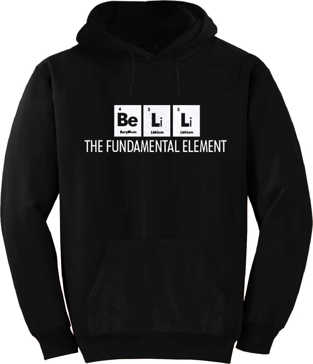Bell The Fundamental Element Periodic Table Hoodie Black