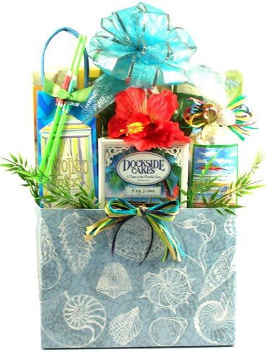 Lemonade and Cookies by the Sea Gift Basket - Size Large