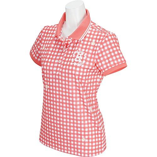 拳体操カーフ【レディース/女性用】 andperse(アンパスィ) 半袖ポロシャツ A9718FSP7 オレンジ Mサイズ