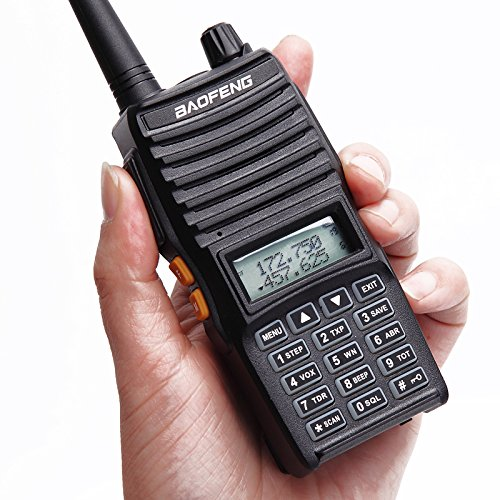Baofeng UV-82(II) Tri-Power 8W/4W/1W Two Way Radio Transceiver (Upgraded Version of UV-82 with Tri-Power), Dual Band 136-174/400-520MHz True 8W High Power Two-Way Radios