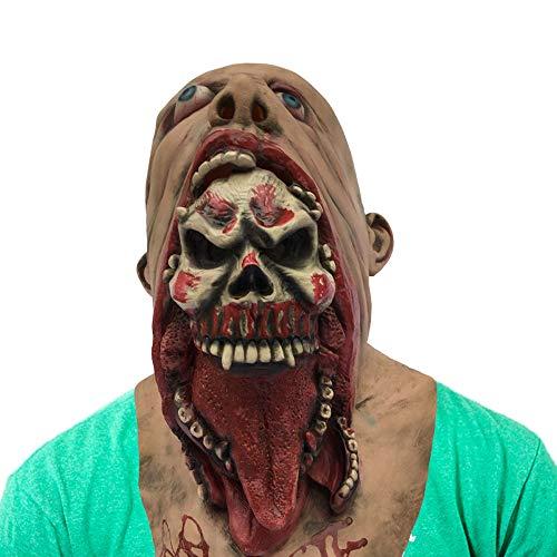 Horror Evil Zombie Mask Walking Dead Latex Full