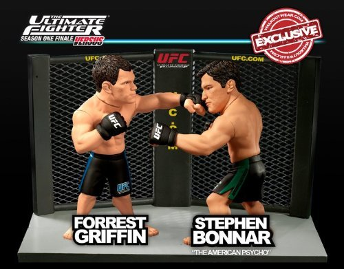 (Round 5 UFC Versus Series 2 LIMITED EDITION Action Figure 2Pack Forrest Griffin Vs. Stephen Bonnar Ultimate Fighter Season One Finale)