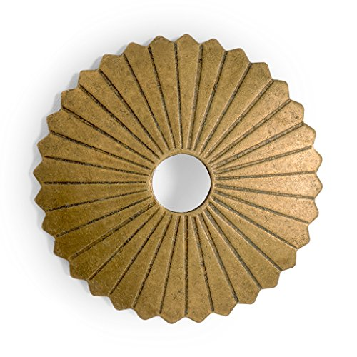 Backplate Brass Tall - CBH Radial Brass Backplate Washers Hardware 1-1/4