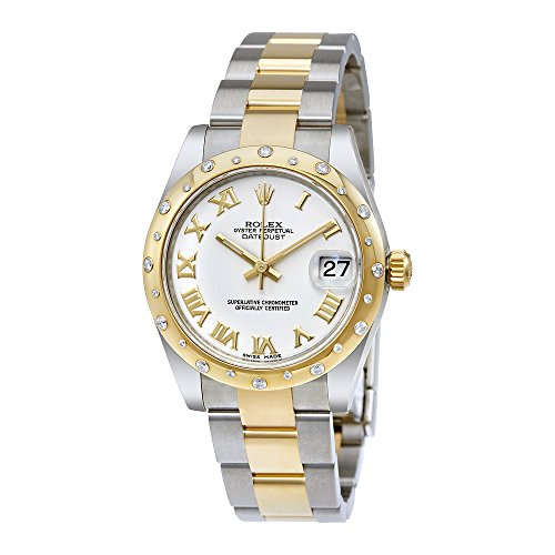 Rolex Datejust Lady 31 White Dial Stainless Steel and 18K Yellow Gold Rolex Oyster Automatic Watch 178343WRO