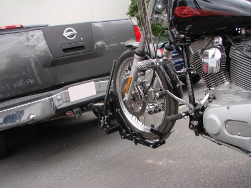 TMS 800 lbs Motorcycle Trailer Hitch Carrier Hauler Tow Towing Dolly Rack - Buy Online in UAE