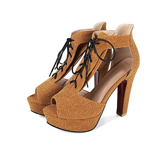 giallo tavoli sandali impermeabile sandali i ai sexy scarpe trentaquattro cave sandali sandali sandali i le sandali 6fnRq