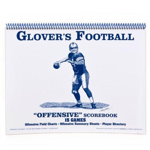 Glovers Scorebooks Football Offensive Scorebook (15 Games) ()
