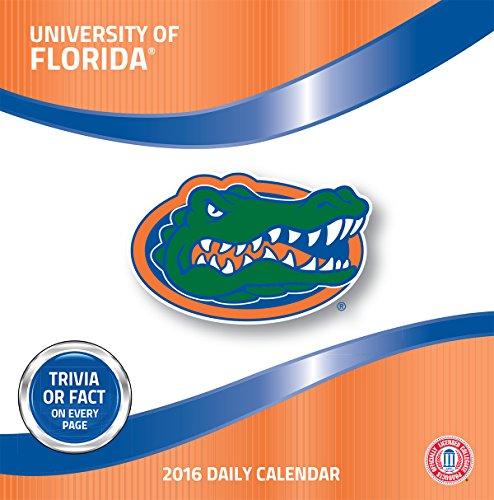 Turner Florida Gators 2016 Box Calendar, January-December (8051373)