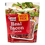 Great Value Real Bacon Pieces, 9 Oz (PACK OF 2)