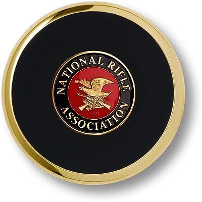 """2pcs NRA Guns and Rifles 2nd Amendment HD Print award trophy 3"""" Sticker Decal Car Truck Bumper Notebook Gun Rifle Rights Decal / Sticker / Helmet / Laptop - AG HOLMES"""
