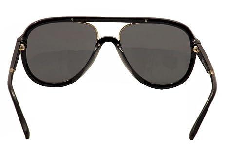e3f9047320 Amazon.com  ill.i By will.i.am Men s WA 519S 519 S 01 Black Gold Pilot  Sunglasses 58mm  Clothing