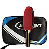 Senston ITTF Approved Table Tennis Bat, Professional Pingpong Racket Paddle with Case,Carbon Blade