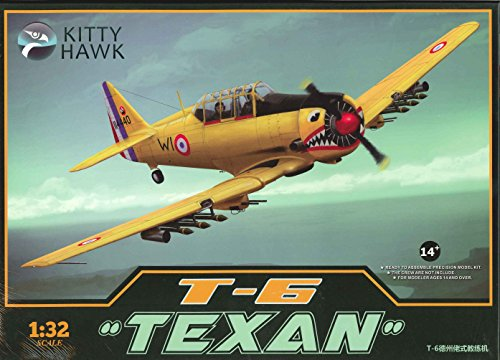 T-6 Texan Single Engine Precision Model Airplane ()