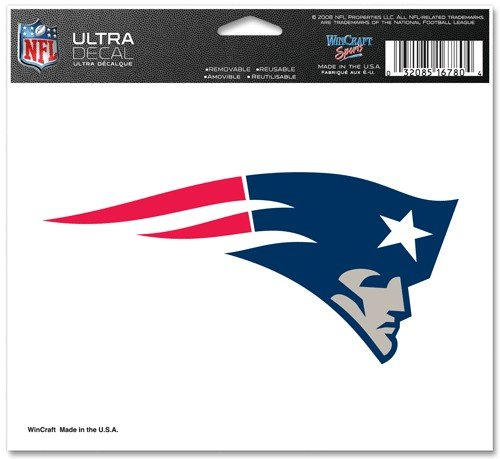 New England Patriots Decal - 6