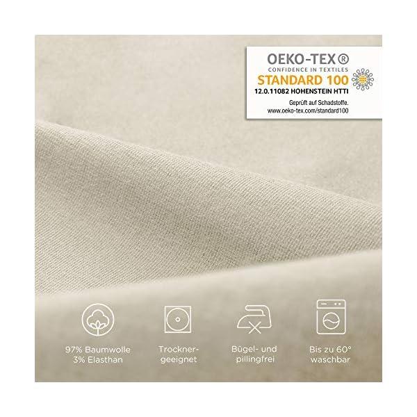 51zFAy OdkL Beeke® Premium Spannbettlaken Wohnmobil [3 teilig] - Multi-Stretch Bettlaken für Wohnwagen-Heckbett [Made in Germany…
