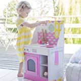 Serra Baby Educational Wooden Great Pink Super Chef Kitchen Kit