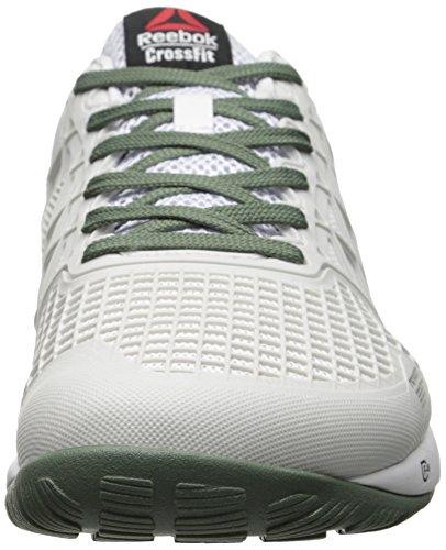 Zapatillas De Entrenamiento Reebok Hombres Crossfit Nano 4.0, Porcelana, Blanco, Plateado
