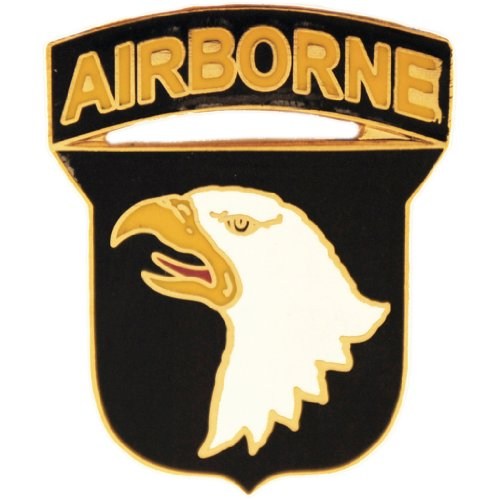 (United States Army 101st Airborne Division Pin Medal Military Commemorative Collectibles, Patriotic Gifts )