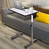 Goplus Overbed Table Adjustable Medical Bedside