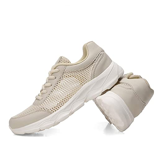 8e07a1e5dbd61 Amazon.com: Vibola Women's Sneakers,Casual Lace Up Sports Breathable ...