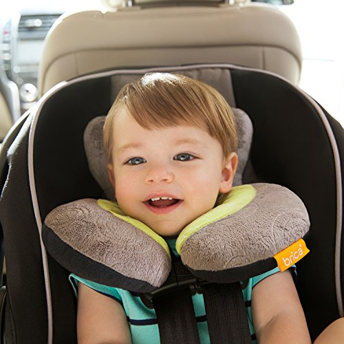 Brica Koosh'N Infant Neck and Head Support, Gray/Green ...