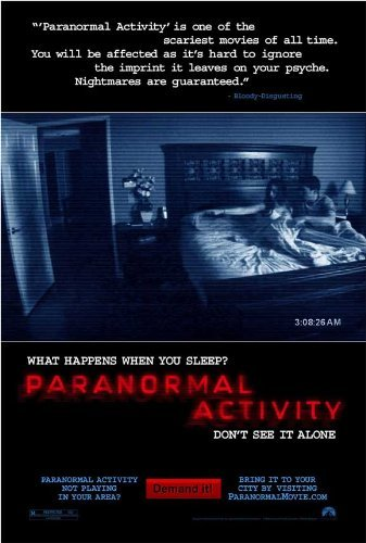 Paranormal Activity POSTER Movie (11 x 17 Inches - 28cm x 44cm) (2007) by Decorative Wall Poster