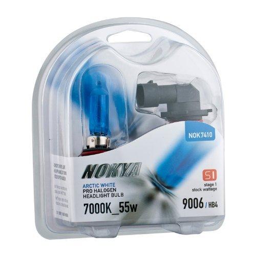 NOKYA NOK7410 Pro Halogen Arctic White 9006 55 Watt 7000K Light ()