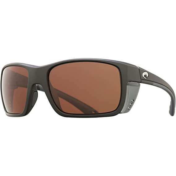 3112492a95 Costa Eyewear Sunglasses Rooster Matte Black Copper 580 Polarized Lens   Amazon.co.uk  Clothing