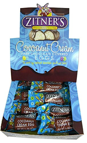 Zitners Cocoanut Cream Eggs 24ct