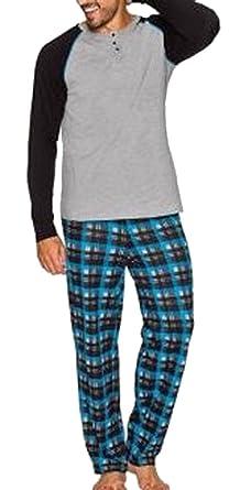 c5df73e2566ef1 Modischer Pyjama Schlafanzug Gr. 52/54 Hose & Shirt 921610: Amazon ...